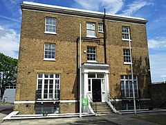 London-Woolwich, Royal Arsenal, Middlegate House 08.jpg