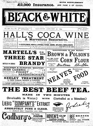 Black and White (magazine) - Image: London Black & White 1895
