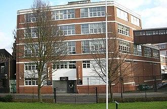 London Metropolitan Archives - London Metropolitan Archives: main building and entrance