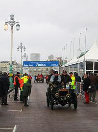 When Was First London To Brighton Veteran Car Rally