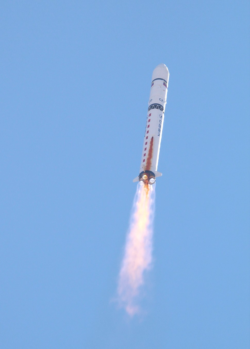 Long March 2D launching VRSS-1 afar