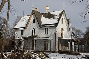 Longfield (Bristol, Rhode Island) - Image: Longfield House Bristol, RI