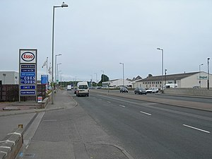 Longman, Inverness - Longman Road