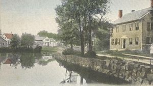 Harrisville, New Hampshire - Image: Looking up Canal, Harrisville, NH