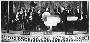 Vincent Lopez - Vincent Lopez and his band in the early 1920s.