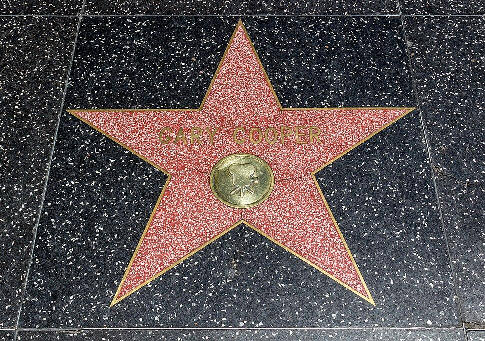Los Angeles (California, USA), Hollywood Boulevard, Gary Cooper -- 2012 -- 4981