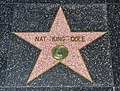 Los Angeles (California, USA), Hollywood Boulevard, Nat King Cole -- 2012 -- 4979.jpg