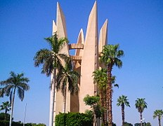Lotus-tower near Aswan