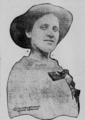Louise Berger socialist leader with red rose clipped to blouse.png
