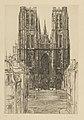 Louise Danse - Eglise Sainte Gudule à Bruxelles - Graphic work - Royal Library of Belgium - S.III 8177.jpg