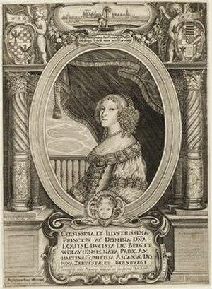 Louise of Anhalt-Dessau - Louise of Anhalt-Dessau (1656)