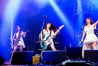 Lovebites (band) Japanese all-female heavy metal band