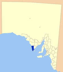 Municipalità di Lower Eyre Peninsula – Mappa