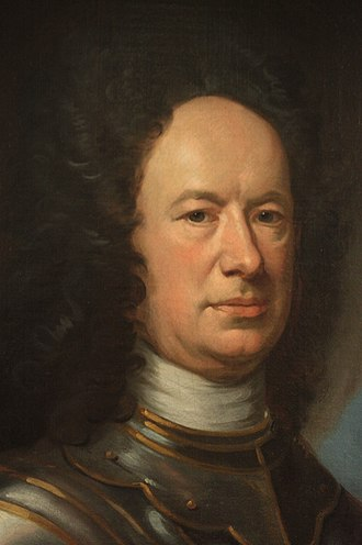 William Aikman (painter) - Lt Col Alexander Campbell by William Aikman
