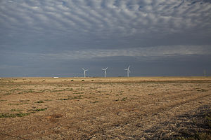 Llano Estacado - Wind turbines