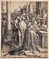 Luca di leida, l'idolatria di salomone, 1514.jpg