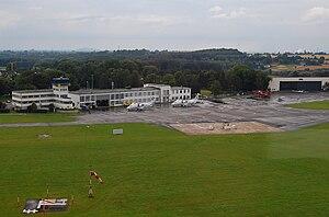 Luftbild Flughafen Essen-Mülheim