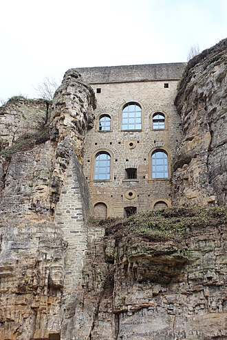 Fortress of Luxembourg - Cliff battery on the Rham plateau
