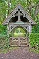 Lych Gate at Hursley Cemetery - geograph.org.uk - 955975.jpg