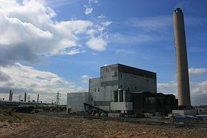Lynemouth power station - Lynemouth Power Station in July 2008