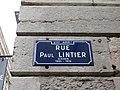 Lyon 2e - Rue Paul Lintier - Plaque (janv 2019).jpg