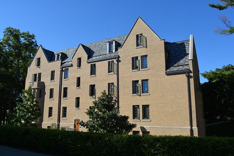 Lyons Hall, facing SQ
