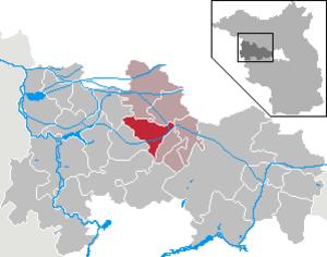 Mühlenberge - Image: Mühlenberge in HVL