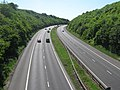 M25 motorway toward A21 - geograph.org.uk - 1331676.jpg