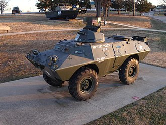 Cadillac Gage Commando - The M706 armored car at Fort Leonard Wood.