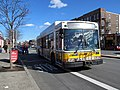 MBTA route 66 bus on Brighton Avenue, April 2017.JPG