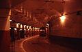MBTA trolleybus in Harvard tunnel in 1967.jpg