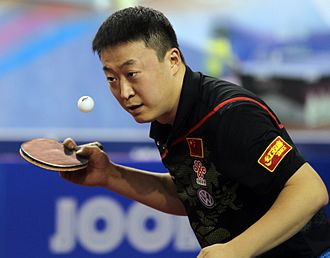 Ma Lin (table tennis) - Ma Lin at the 2012 Qatar Open