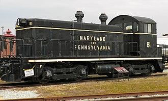 Strasburg Township, Lancaster County, Pennsylvania - Locomotive at the Railroad Museum of Pennsylvania