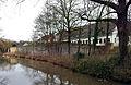 Maastricht2015, zuidzijde tweede middeleeuwse stadsmuur bij Nieuwenhofstraat.jpg