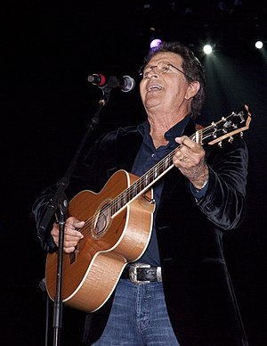Mac Davis - Davis performing at the Alabama Music Hall of Fame Concert in 2010