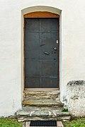 Magdalensberg St. Thomas Pfarrkirche hl. Thomas Sakristei Portal 04102019 7258.jpg