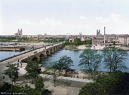 Magdeburg   [Public domain], via Wikimedia Commons