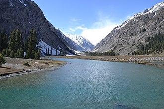 Mahodand Lake - Image: Mahodand Lake in Oshu Valley