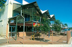 Katherine, Northern Territory - Katherine  Main Street.