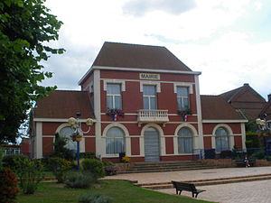 Annay, Pas-de-Calais - The town hall of Annay