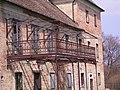 Majki kamalduli remeteség, kastély, erkély, 2008 Oroszlány141.jpg