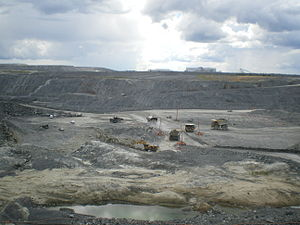 Environmental impact of mining - Malartic mine - Osisko