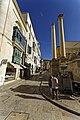Malta - Valletta - Republic Street - View into Ordnance Street along Royal Opera House Site.jpg