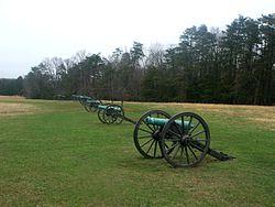 Manassas, Henry Hill, Jackson's canons.jpg