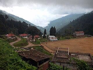 Manebhanjyang, Darjeeling Transit-town in West Bengal, India