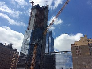 Manhattan West - New buildings under construction