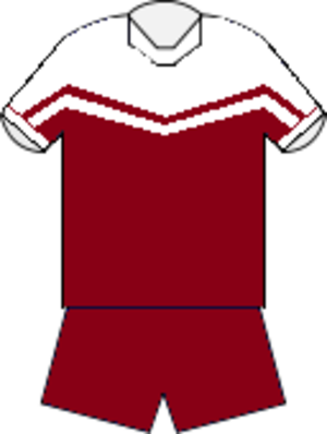 1999 NRL season - Image: Manly home jersey 1998