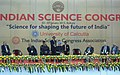 "Manmohan Singh addressing a Panel Discussion on ""Science for Shaping the Future of India"", during the inauguration of the 100th Session of Indian Science Congress, in Kolkata. The Governor of West Bengal.jpg"