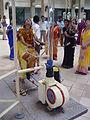 Manoeuvring Floating Ball - Science City - Kolkata 2004-12-09 03500.JPG