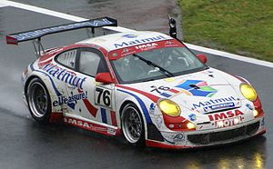 IMSA Performance - IMSA Performance Matmut Le Mans winning Porsche 997 GT3-RSR at the 2007 24 Hours of Le Mans
